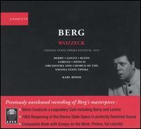 Berg: Wozzeck - Christel Goltz (soprano); Harald Proglhoff (vocals); Karl Donch (bass baritone); Marjan Rus (vocals); Max Lorenz (tenor);...