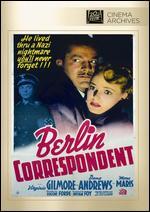 Berlin Correspondent - Eugene J. Forde