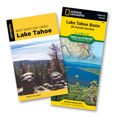 Best Easy Day Hiking Guide and Trail Map Bundle: Lake Tahoe - Salcedo, Tracy
