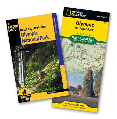 Best Easy Day Hiking Guide and Trail Map Bundle: Olympic National Park - Molvar, Erik