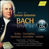 Best of Johann Sebastian Bach: Suites; Concertos; Oratorios; Cantatas; Motets - Bach Ensemble; Evgeni Koroliov (piano); Kay Johannses (organ); Robert Levin (harpsichord); Stuttgart Bach Collegium;...