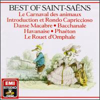 Best Of Saint-Saëns - Aldo Ciccolini (piano); Alexis Weissenberg (piano); Jacques Cazauran (double bass); Luben Yordanoff (violin);...