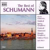 Best of Schumann - Balázs Szokolay (piano); Jenö Jandó (piano); Kodály Quartet; Kristin Merscher (piano); Maria Kliegel (cello)