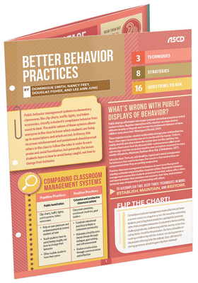 Better Behavior Practices (Quick Reference Guide) - Smith, Dominique, and Frey, Nancy, and Fisher, Douglas