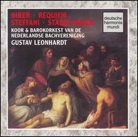 Biber: Requiem a 15; Steffani: Stabat Mater - Frans Huijts (baritone); Harry van der Kamp (bass); John Elwes (tenor); Mark Padmore (haute contre vocal);...