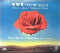 Biber: The Rosary Sonatas - Alison McGillivray (cello); Andrew Manze (violin); Andrew Manze (talking); Richard Egarr (organ); Richard Egarr (harpsichord)