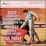 Bizet: Carmen Suite; Arl�sienne Suites Nos. 1 & 2; Thomas: Mignon & Raymond Overtures