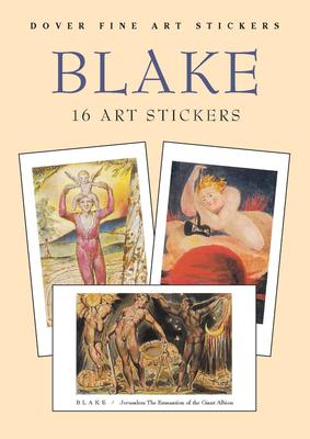 Blake: 16 Art Stickers - Blake, William