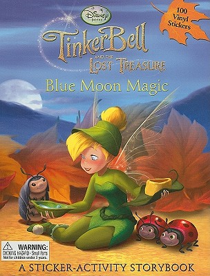 Blue Moon Magic: A Sticker-Activity Storybook - Disney Press (Creator)