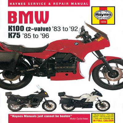 bmw k100 2 valve 83 to 92 k7585 to 96 book by jeremy. Black Bedroom Furniture Sets. Home Design Ideas