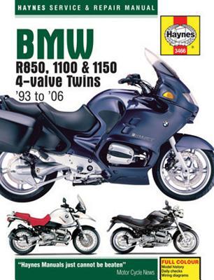 BMW R850, 1100, & 1150 Service and Repair Manual - Haynes, John H