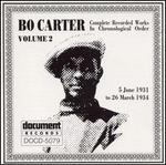 Bo Carter, Vol. 2: (1931-1934)