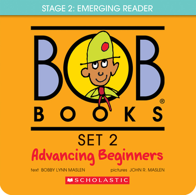 Bob Books Set 2: Advancing Beginners - Maslen, Bobby Lynn, and Maslen, John (Illustrator), and Scholastic