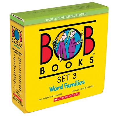 Bob Books Set 3: Word Families - Maslen, Bobby Lynn, and Maslen, John (Illustrator), and Scholastic