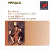 Boccherini: Cello Sonatas - Anner Bylsma (cello); Bob van Asperen (fortepiano); Kenneth Slowik (cello)