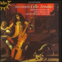 Boccherini: Cello Sonatas - Chi-Chi Nwanoku (double bass); David Watkin (cello); Richard Lester (cello)