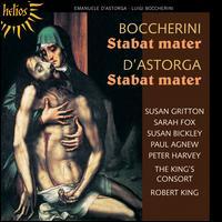 Boccherini: Stabat Mater; D'Astorga: Stabat Mater - Paul Agnew (tenor); Peter Harvey (bass); Sarah Fox (soprano); Susan Bickley (mezzo-soprano); Susan Gritton (soprano);...