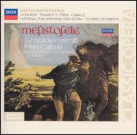 Boito: Mefistofele - Della Jones (vocals); Luciano Pavarotti (vocals); Mirella Freni (vocals); Montserrat Caballé (vocals);...