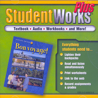 Bon Voyage! Level 3, Studentworks Plus Cd-Rom - McGraw-Hill