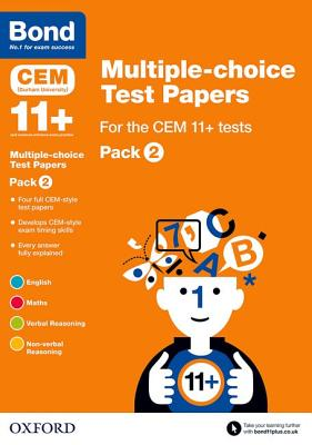 Bond 11+: Multiple-choice Test Papers for the CEM 11+ tests Pack 2 - Hughes, Michellejoy, and Bond
