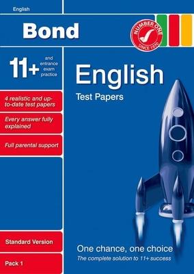Bond 11+ Test Papers English Standard Pack 1 - Lindsay, Sarah