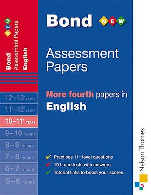 Bond More Fourth Papers in English 10-11+ Years - Lindsay, Sarah