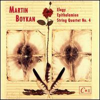 Boykan: Elegy/String Quartet 4/Epithalamion - James Maddalena (baritone); Jane Bryden (soprano); Lydian String Quartet; Nancy Cirillo (violin); Virginia Crumb (harp);...
