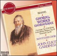 Brahms: Choral Works - Anthony Halstead (horn); Christian Rutherford (horn); Delyth Wynne (harp); John Perry (piano); Philip Salmon (tenor);...