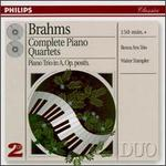 Brahms: Complete Piano Quartets - Beaux Arts Trio; Bernard Greenhouse (cello); Daniel Guilet (violin); Isidore Cohen (violin); Menahem Pressler (piano); Walter Trampler (viola)