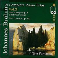 Brahms: Complete Piano Trios, Vol. 3 - Chia Chou (piano); Michael Gross (cello); Trio Parnassus; Wolf-Dieter Streicher (violin)