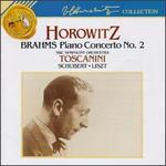 Brahms: Concerto No.2; Intermezzo, Op.117; Schubert: Impromptu; Liszt: Au bord d'une source; Sonetto No.104; Hungaria