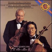 Brahms: Double Concerto; Piano Quartet, Op. 60 - Emanuel Ax (piano); Isaac Stern (violin); Jaime Laredo (viola); Yo-Yo Ma (cello); Chicago Symphony Orchestra;...