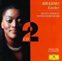 Brahms: Lieder - Daniel Barenboim (piano); Jessye Norman (soprano)
