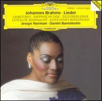 Brahms: Lieder - Daniel Barenboim (piano); Jessye Norman (soprano); Wolfram Christ (cello)