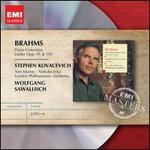 Brahms: Piano Concertos; Lieder