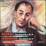 Brahms: Piano Quartet No. 1, Op. 25; Schumann: Piano Quintet in E flat major, Op. 44