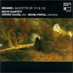 Brahms: Quintettes Op. 111 & 115