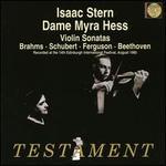 Brahms, Schubert, Ferguson, Beethoven: Violin Sonatas