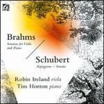 Brahms: Sonatas for Viola & Piano; Schubert: Arpeggione Sonata