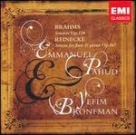 Brahms: Sonatas, Op. 120; Reinecke: Sonata for Flute & Piano, Op. 167
