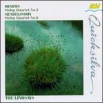 Brahms: String Quartet No. 2; Mendelssohn: String Quartet No. 6 - Bernard Gregor-Smith (cello); Peter Cropper (violin); Robin Ireland (viola); Ronald Birks (violin); The Lindsays (violin);...