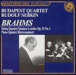Brahms: String Quartet, Op. 51, No. 1; Piano Quintet