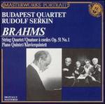 Brahms: String Quartet, Op. 51, No. 1; Piano Quintet