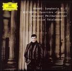 Brahms: Symphonie Nr. 1; Beethoven: Ouvert�re Egmont
