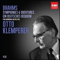 Brahms: Symphonies & Overtures; Ein Deutsches Requiem - Christa Ludwig (mezzo-soprano); Dietrich Fischer-Dieskau (baritone); Elisabeth Schwarzkopf (soprano); Ralph Downes (organ);...