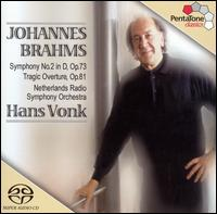 Brahms: Symphony No. 2; Tragic Overture - Netherlands Radio Symphony Orchestra; Hans Vonk (conductor)