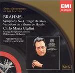 Brahms: Symphony No. 4; Tragic Overture; etc. (Bonus CD)