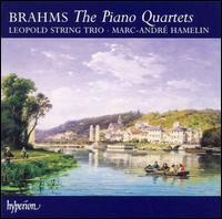 Brahms: The Piano Quartets - Leopold String Trio; Marc-André Hamelin (piano)