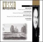 Brahms: Violin Concerto in D Op77; Beethoven: Romance in G No1, Op40