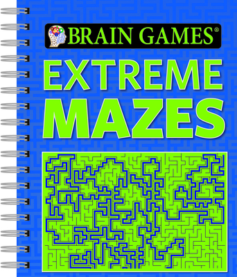Brain Games Extreme Mazes - Publications International, Ltd (Editor)